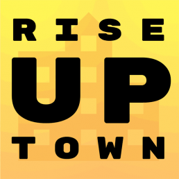 Rise Up Town logo